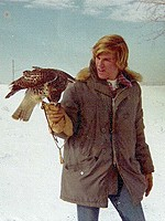 With a rare Hawk Python in 1972